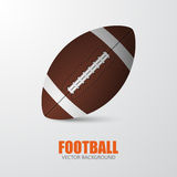 Football. Vector background Royalty Free Stock Photography