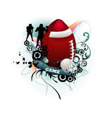 Football vector illustration Stock Photography