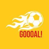 Football vector logo Stock Photo