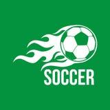 Football vector logo Stock Photography