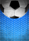 Football - vintage background stars texture Stock Photos