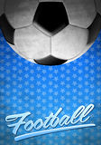 Football - vintage background texture Royalty Free Stock Photo