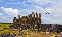 Football wall Royalty Free Stock Photos