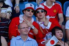 Football WC 2011: Austria vs. Japan Stock Photo