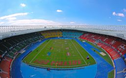 Football WC 2011: Ernst-Happel-Stadium Royalty Free Stock Photo