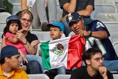 Football WC 2011: Germany vs. Mexico Royalty Free Stock Photos