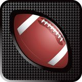 Football web button. Web button of a football Royalty Free Stock Images