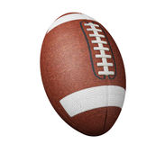Football on white Royalty Free Stock Photography