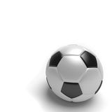 Football on White Background Royalty Free Stock Photo