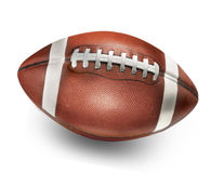 Football. On white background with shadow royalty free stock photography