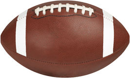 Football Wide CP. American football with white stripes and stitching Stock Photography