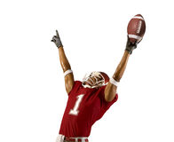 Football Win Royalty Free Stock Photography