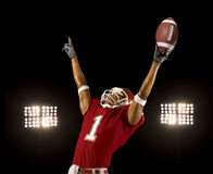 Football Win Royalty Free Stock Image