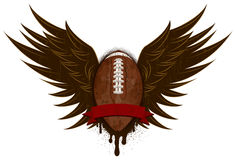 Football wings Stock Photo