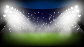 Football World Championship Cup Abstract Background. EPS10 Vector Royalty Free Stock Images