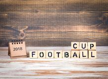 Football 2018 world championship cup, soccer Royalty Free Stock Photo