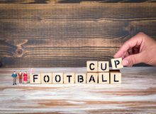 Football 2018 world championship cup, soccer Royalty Free Stock Images