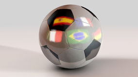 Football. World cup 2014 Brasil Royalty Free Stock Photography