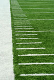 Football Yard Markers Stock Image