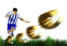 Football, Yellow, Football Player, Ball Stock Photography