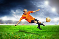 Footballer Royalty Free Stock Images