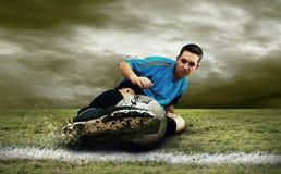 Footballer royalty free stock photos