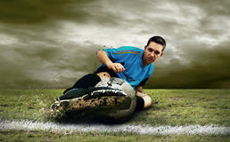 footballer Royaltyfria Foton