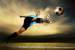 Footballer Royalty Free Stock Image