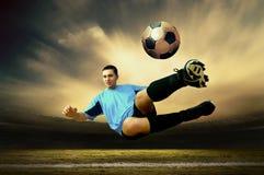 footballer Royaltyfria Bilder