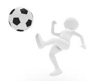 Footballer Royalty Free Stock Image