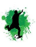 footballer arkivfoton