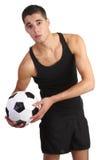 footballer Royaltyfri Fotografi