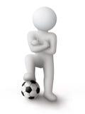 Footballer Stock Photo