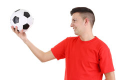 footballer Arkivbild
