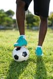 Footballer Photos libres de droits