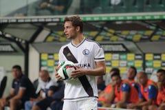 footballer Arkivbilder