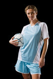 footballer foto de stock royalty free