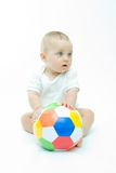 footballer little Arkivbilder