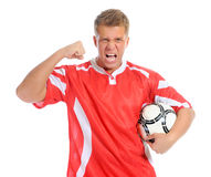 Footballer player Royalty Free Stock Photography