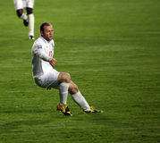 Footballer Rooney Royalty Free Stock Photography