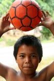 footballerbarn Royaltyfri Foto