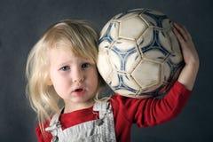 footballerbarn Royaltyfri Bild