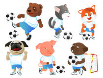 Footballers Stock Images