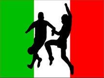 Footballers Illustration Royalty Free Stock Image