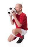 Footballeur photographie stock libre de droits