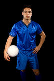 Footballeur Image libre de droits