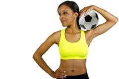 Footballeur Photo stock