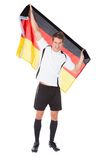 Footballeur allemand Image stock