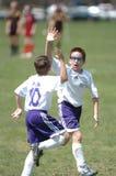 Footballeur de la jeunesse image libre de droits