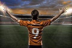 Footballeur de Néerlandais photographie stock libre de droits